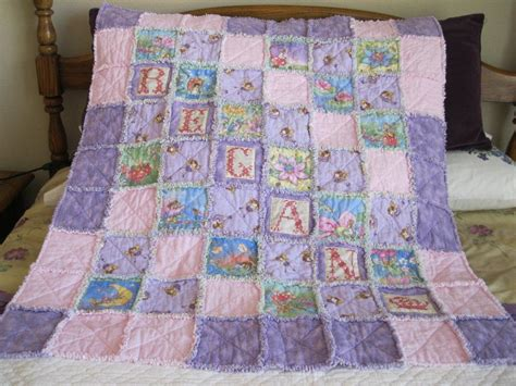 Rag Quilt Pattern Baby by You To See Baby Rag Quilt On Craftsy