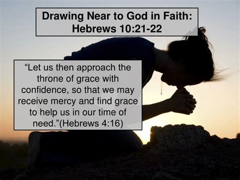 Drawing Near by Ppt Welcome Home Hebrews 10 19 25 Powerpoint