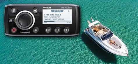 fusion boat stereo review review fusion ms ra205 marine stereo with universal dock