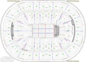 Td Garden Layout Boston Td Garden Detailed Seat Row Numbers End Stage Concert Sections Floor Plan With