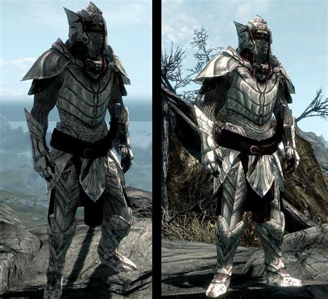 Skyrim Light Armor elven dragonbone light armor set at skyrim nexus mods