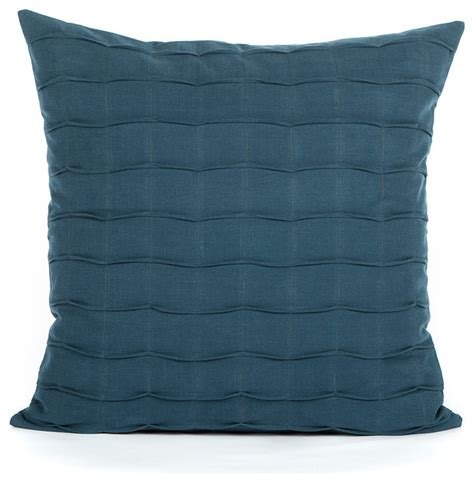 Navy Accent Pillow by Navy Blue Crafted Pintuck Accent Throw Pillow