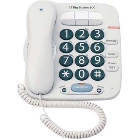 tesco mobile telephone number buy bt big button 100 telephone from our corded telephones