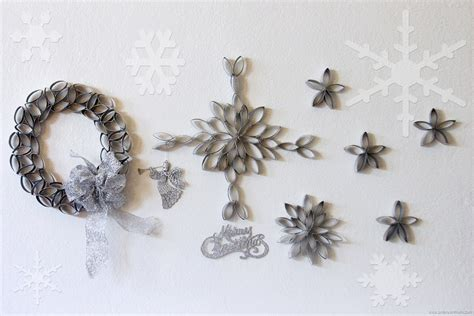 What To Make Out Of Toilet Paper Rolls - diy snowflakes out of toilet paper rolls unknown mami