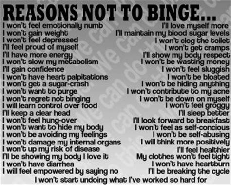 how to not to eat reasons not to binge eat