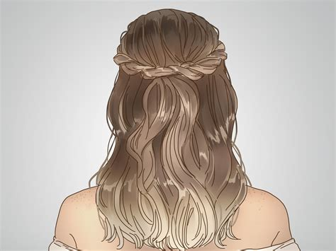 crown hairstyles how to do a twisted crown hairstyle with pictures wikihow