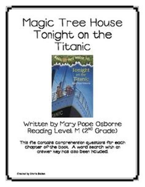 magic tree house printable quizzes 1000 images about titanic on pinterest unit studies