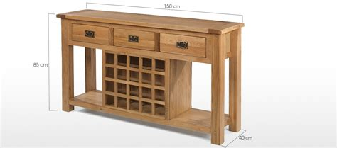 wine rack sofa table rustic oak wine rack console table quercus living