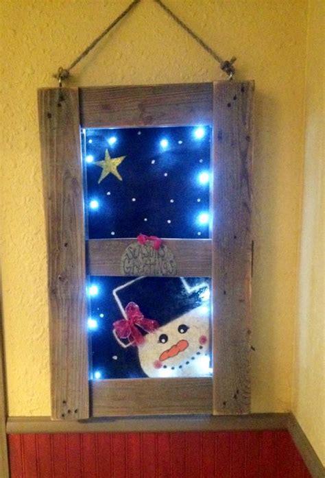 simple  beautiful reclaimed wood christmas