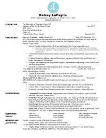 Interior Designer Resume Template Interior Design Student Resume How To Start Interior