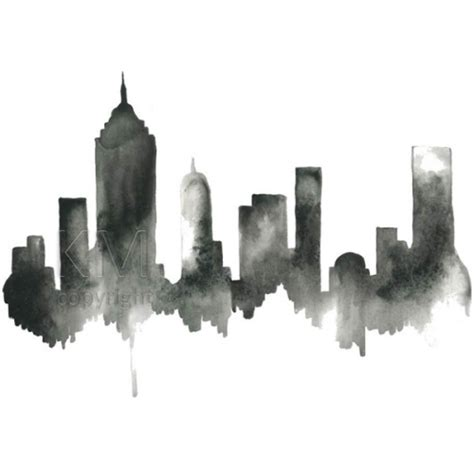 Home Decor Houston by New York City Skyline Wall Art