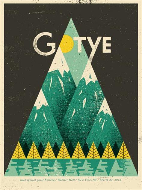 design gig poster gotye gig poster design by doe eyed