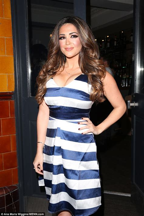 Dress Model Style Impor 31 casey batchelor dons a nautical inspired dress at ukai restaurant launch in daily mail