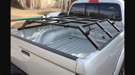 Single Top Box Rack truck bed rack for roof top tent truck accessories