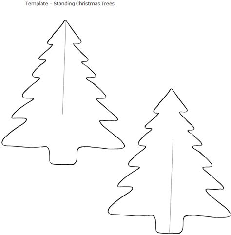 complete christmas tree stencil free coloring pages printable