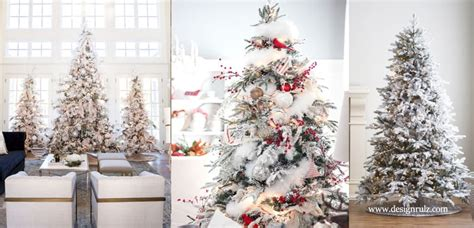 xmas trees frosted pull up beautiful ideas to deck up your frosted tree