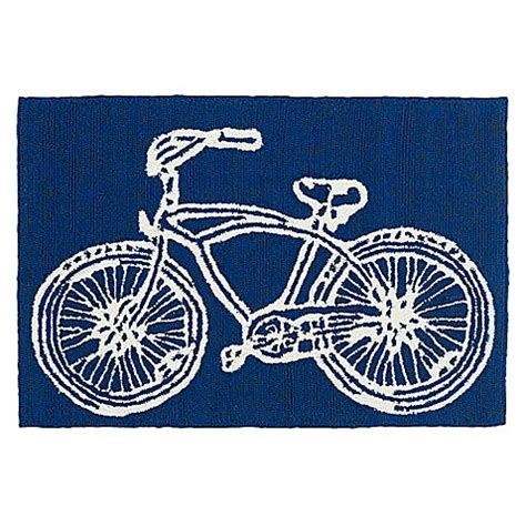 bike rug kaleen sea isle bike indoor outdoor rug bed bath beyond