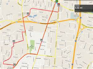 Map My Run Route by Local Running Routes Fleet Feet Cincy