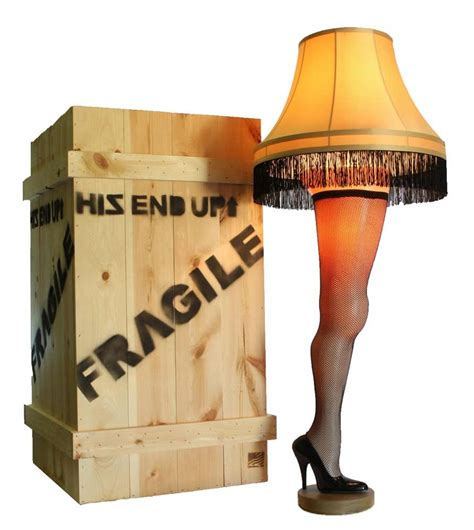 a christmas story leg l 50 quot deluxe full size leg l a christmas story major award