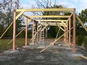 Carport Construction Plans construction garage en bois morlaix 2011 thomas paugam