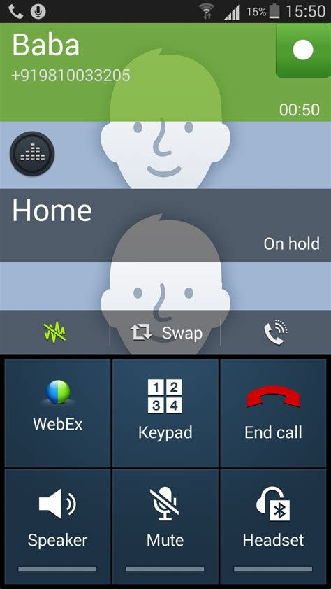 call android unable to call conference on android after installing webex mobile applications cisco