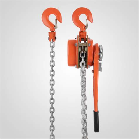 Heavy Duty Chain Block 3 Ton X 5 0m Krisbow Kw0501395 heavy duty 1 5 ton 10 ft ratcheting lever block chain hoist puller pulley come along