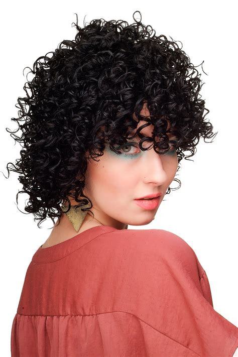 medium length afro caribbean curly hair styles ladies wig stark curly short black afro caribbean style wl