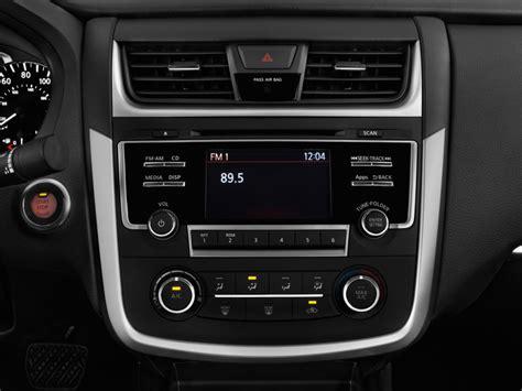 nissan sedan 2016 interior image 2016 nissan altima 4 door sedan i4 2 5 s audio