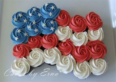 4th of july cupcakes mommy moment