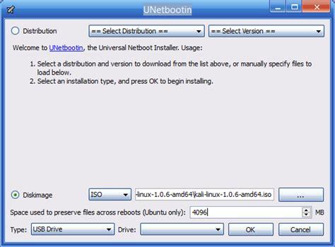 cara membuat kali linux live usb exhacking net hacking 6 pastikan usb flash disk terdeteksi dalam hal ini