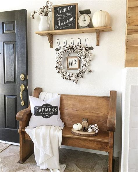 Entryway Shelf Decor Best 25 Fall Entryway Ideas On Foyer Day