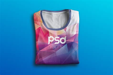 folded t shirt mockup free psd download download psd