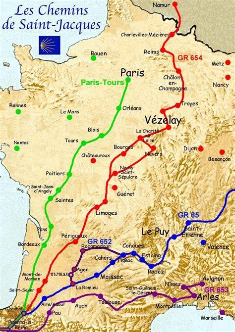 camino st les chemins de jacques de compostelle the way of