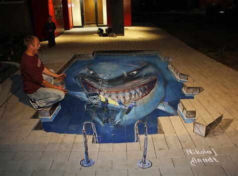 imagenes art cool beautiful 3d street art by nikolaj arndt 20 pics i