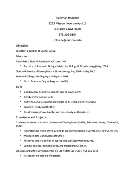 up to date resume format 2015 sule s up to date resume 2015