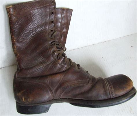 army boots for mystery pair of u s army boots ww ii