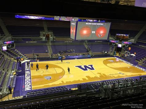 alaska section 8 alaska airlines arena section 9 rateyourseats com