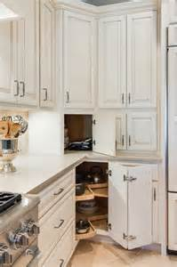 Appliance Garage And Lazy Susan Traditional Kitchen