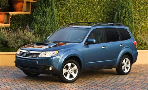 blue subaru forester 2009 2009 subaru forester reviews ratings prices consumer