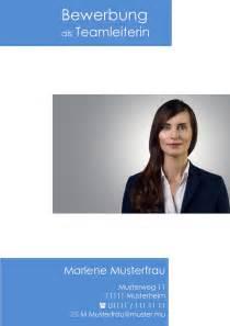 Deckblatt Bewerbung Teamleiter Deckblatt In Der Bewerbung 252 Ber 100 Kostenlose Muster Vorlagen