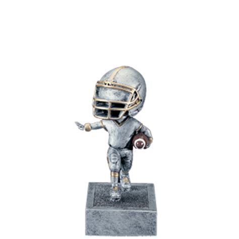 bobblehead football trophy football bobblehead trophy 5 5 quot football trophies