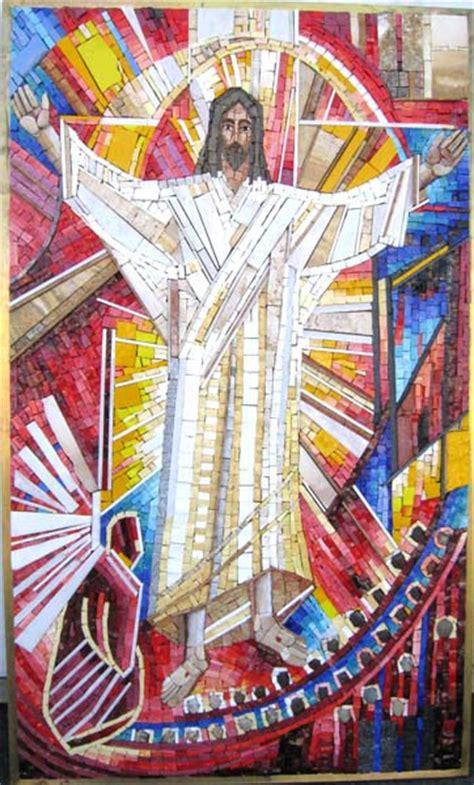 custom mosaic art religious collection