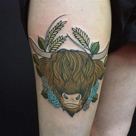 tattoo cattle cow tattoos tattoo collections