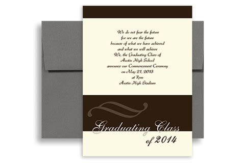 2015 high school graduation announcements template