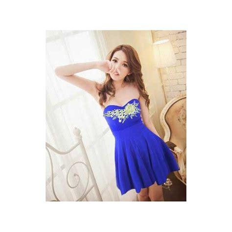 Mini Dress By Shopping Dulu mini dress model kemben d1878 moro fashion