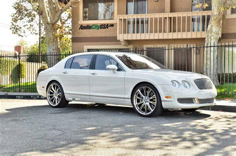 2017 bentley flying spur on rims 2007 bentley flying spur 22 quot ace aspire hyper silver