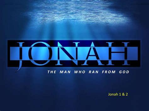 when jonah ran books jonah study