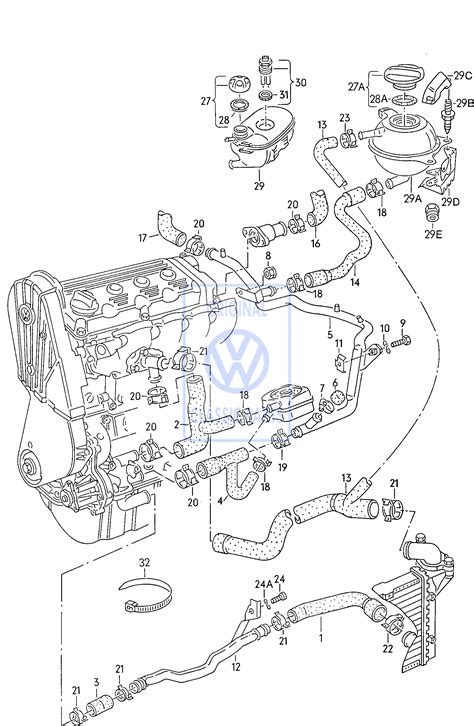 Volkswagen Passat Parts by Volkswagen Passat Cooling Parts Catalog Imageresizertool