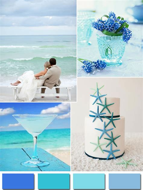 colour themes for beach wedding fabulous wedding colors 2014 wedding trends part 3
