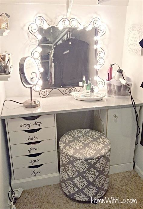 diy bedroom vanity best 25 bathroom makeup vanities ideas on pinterest
